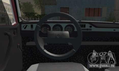 Renault TX Turkish Modifed pour GTA San Andreas sur la vue arrière gauche