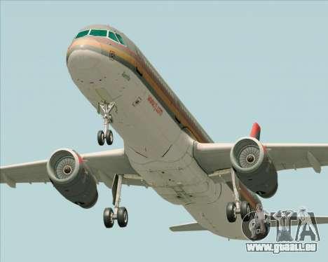 Airbus A321-200 Royal Jordanian Airlines für GTA San Andreas Innenansicht