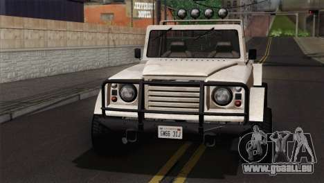 Canis Bodhi V1.0 Army pour GTA San Andreas