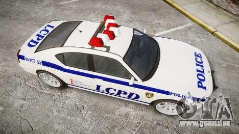 Bravado Buffalo Police für GTA 4 rechte Ansicht