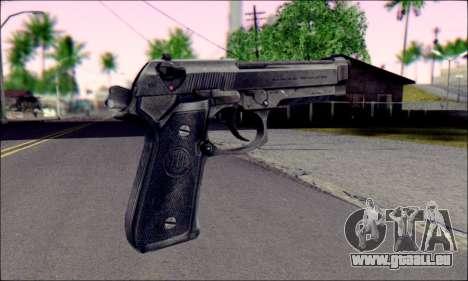 Beretta M92F pour GTA San Andreas deuxième écran