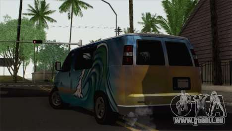 Bravado Paradise pour GTA San Andreas laissé vue