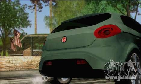 Fiat Bravo 2 pour GTA San Andreas sur la vue arrière gauche