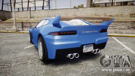 GTA V Invetero Coquette pour GTA 4 Vue arrière de la gauche