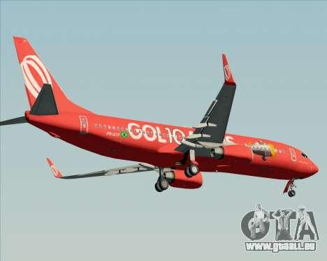 Boeing 737-800 Gol Transportes Aéreos für GTA San Andreas Seitenansicht