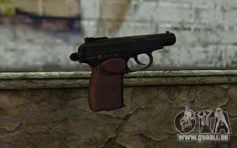 Le Pistolet Makarov pour GTA San Andreas deuxième écran