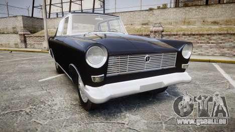 FSO Warszawa Ghia 1959 pour GTA 4
