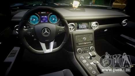 Mercedes-Benz SLS AMG GT-3 high pour GTA 4 Vue arrière