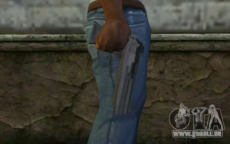 Desert Eagle from Cutscene für GTA San Andreas dritten Screenshot