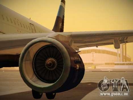 Airbus A321-232 Big Blue Bus pour GTA San Andreas moteur