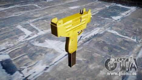 Golden Uzi pour GTA 4 secondes d'écran