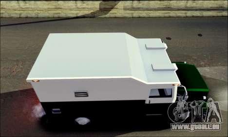 Shubert Armored Van from Mafia 2 pour GTA San Andreas sur la vue arrière gauche
