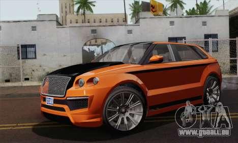 Huntley S (IVF) pour GTA San Andreas