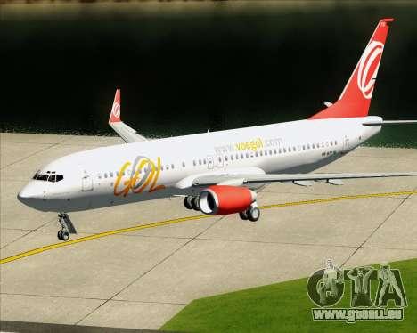 Boeing 737-800 Gol Transportes Aéreos pour GTA San Andreas moteur