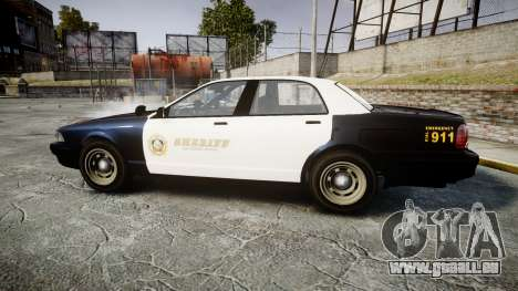 GTA V Vapid Cruiser LSS Black [ELS] Slicktop für GTA 4 linke Ansicht