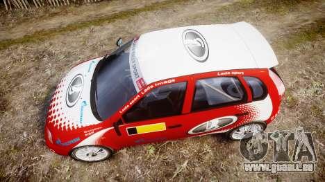 VAZ-Kalina 1119 RallyCross pour GTA 4 est un droit