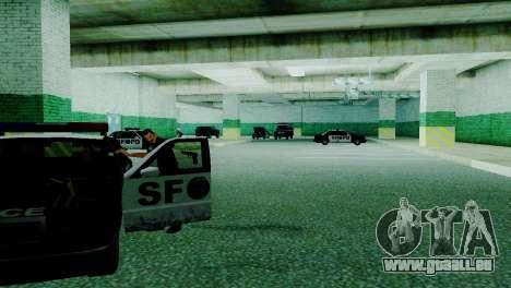 Die Wiederbelebung von allen Polizeistationen für GTA San Andreas neunten Screenshot