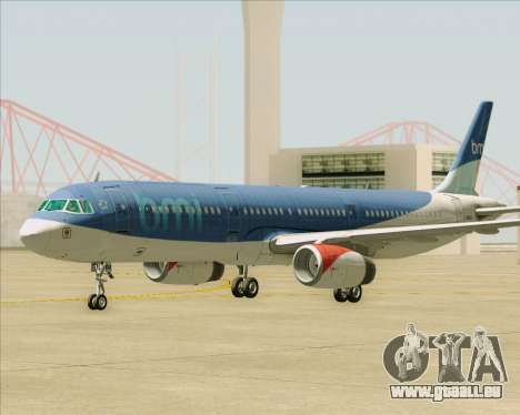 Airbus A321-200 British Midland International pour GTA San Andreas