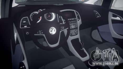 Vauxhall Astra Estate Metropolitan Police [ELS] für GTA 4 Innenansicht