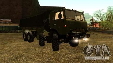 Die KamAZ-6350 für GTA San Andreas