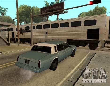 Tahoma Restyle pour GTA San Andreas laissé vue