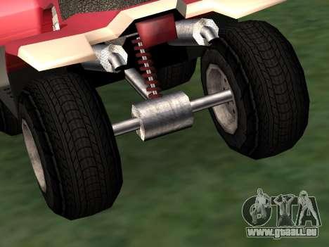 Mis à jour le Quad pour GTA San Andreas vue de droite