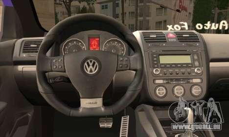 Volkswagen Golf Mk5 GTi Turkish Tuned für GTA San Andreas zurück linke Ansicht