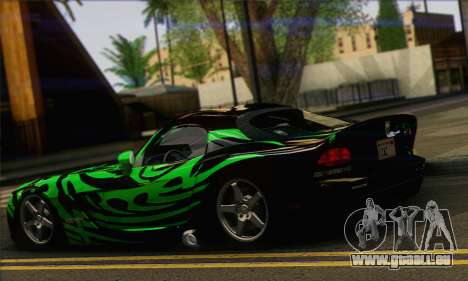 Dodge Viper SRT 10 für GTA San Andreas linke Ansicht