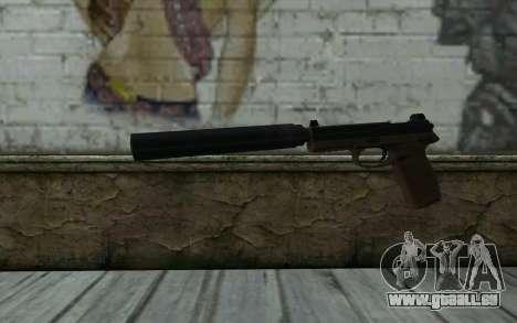 FN FNP-45 Mit Schalldämpfer für GTA San Andreas
