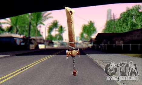 Меч (World Of Warcraft) für GTA San Andreas