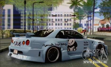 Nissan Skyline R-34 SDK Style für GTA San Andreas linke Ansicht
