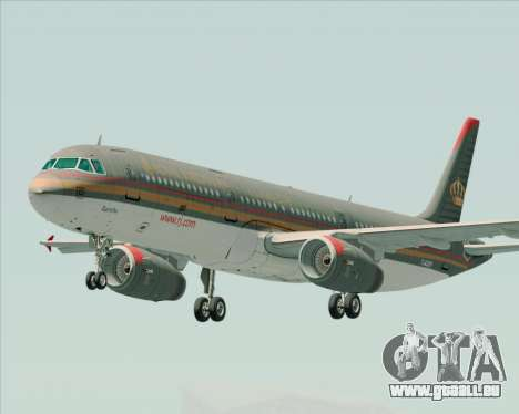 Airbus A321-200 Royal Jordanian Airlines pour GTA San Andreas
