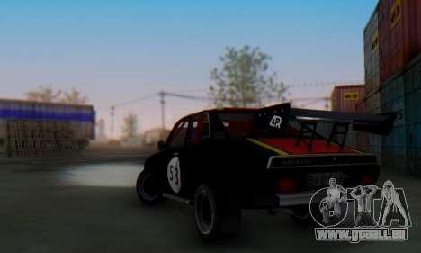 Dacia 1410 Sport pour GTA San Andreas vue de droite