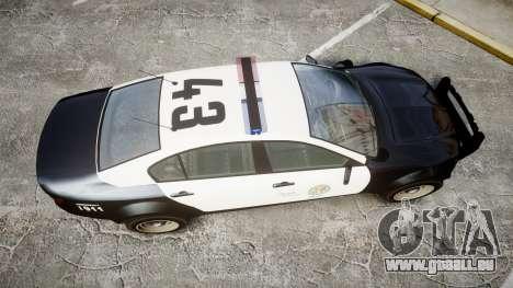 GTA V Cheval Fugitive LS Police [ELS] pour GTA 4 est un droit