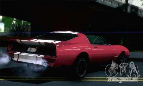 GTA 5 Phoenix pour GTA San Andreas laissé vue