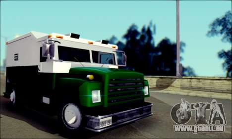 Shubert Armored Van from Mafia 2 für GTA San Andreas