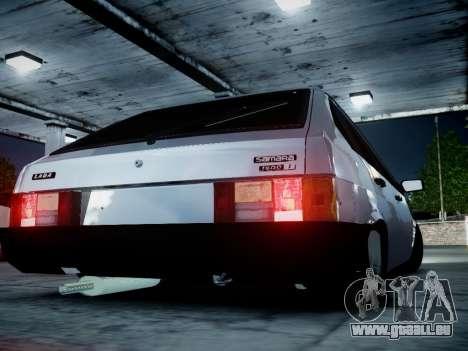 VAZ 2109 für GTA 4 hinten links Ansicht