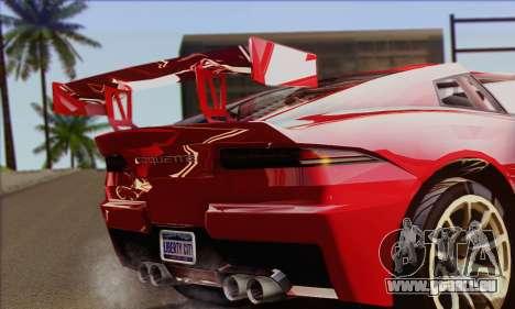 Invetero Coquette (IVF) für GTA San Andreas zurück linke Ansicht