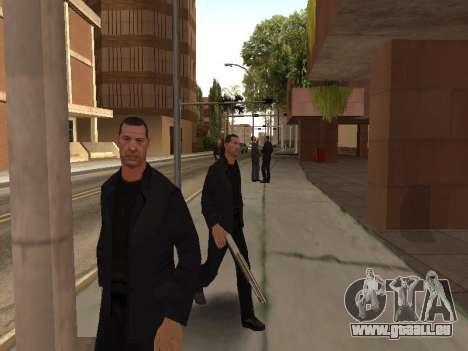 Ändern Bereiche von Banden und Ihre Waffen für GTA San Andreas fünften Screenshot