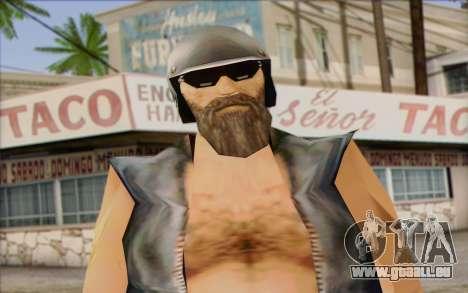 Biker from GTA Vice City Skin 2 pour GTA San Andreas troisième écran