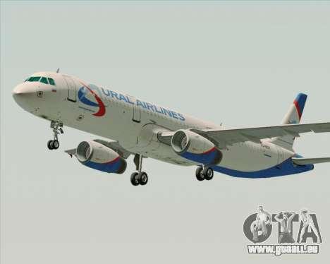 Airbus A321-200 Ural Airlines pour GTA San Andreas laissé vue