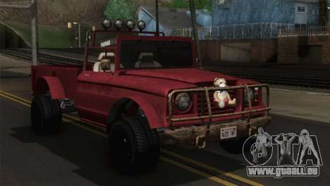 Canis Bodhi V1.0 Rusty pour GTA San Andreas