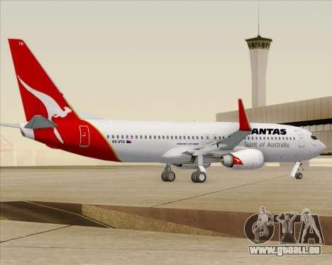 Boeing 737-838 Qantas (Old Colors) pour GTA San Andreas vue de droite