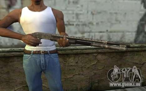 Mossberg 500 from Battlefield: Vietnam für GTA San Andreas dritten Screenshot