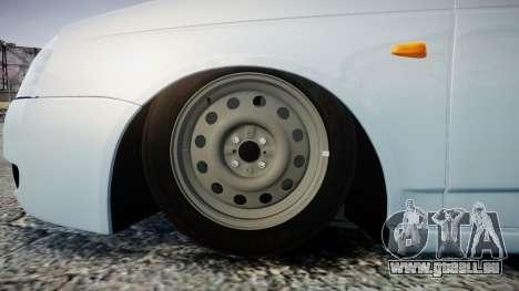 ВАЗ-2170 Installé Avant pour GTA 4 Vue arrière