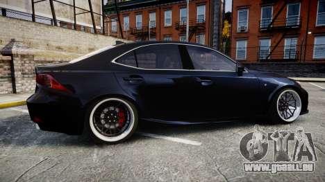 Lexus IS 350 F-Sport pour GTA 4 est une gauche