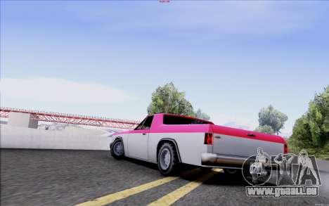 New Picador für GTA San Andreas linke Ansicht