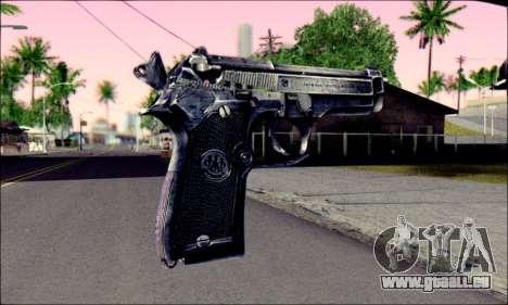 Beretta 92 pour GTA San Andreas deuxième écran