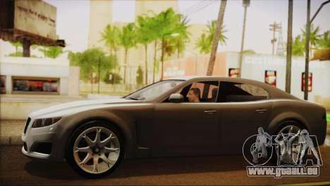 Lampadati Felon (IVF) für GTA San Andreas