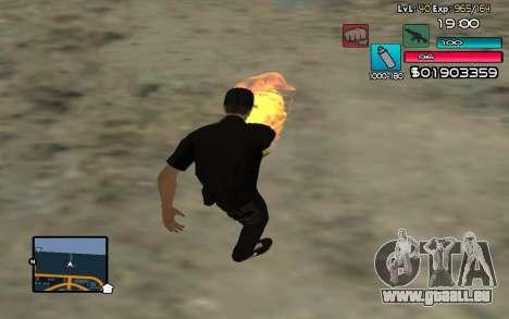 C-HUD by SampHack v.14 pour GTA San Andreas